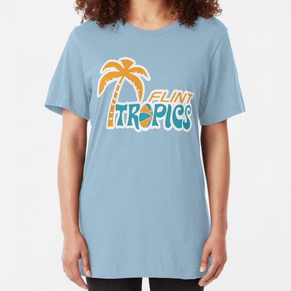 Flint Tropics Retro Slim Fit T-Shirt