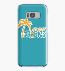 Flint Tropics Retro Samsung Galaxy Case/Skin