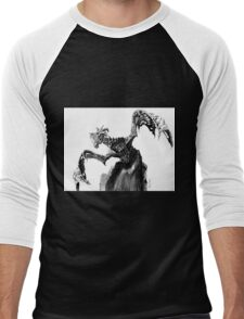 Durnehviir from The Elder Scrolls V Skyrim Dragon; Fantasy Art Men's Baseball ¾ T-Shirt