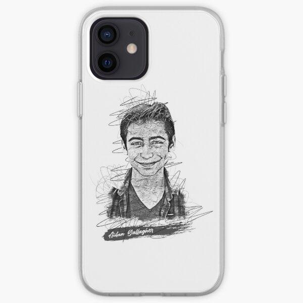 Aidan Gallagher Boceto abstracto artístico, Aidan Gallagher, Número 5 Funda blanda para iPhone