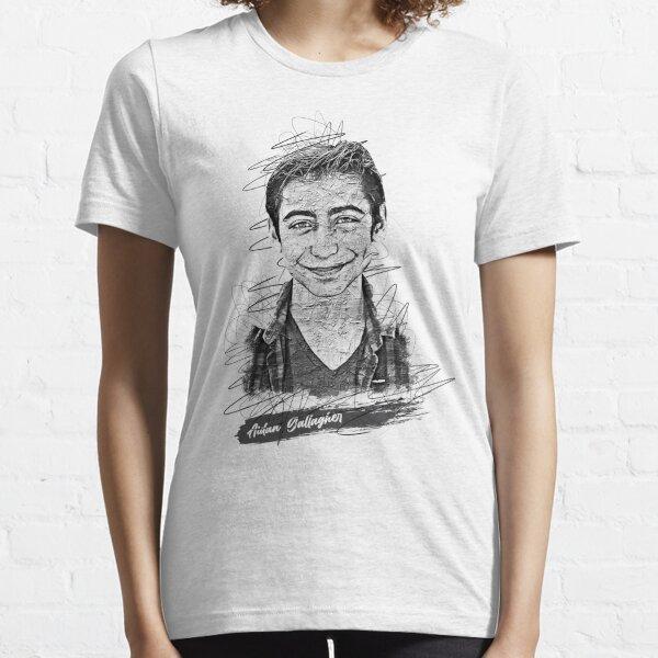 Aidan Gallagher Boceto abstracto artístico, Aidan Gallagher, Número 5 Camiseta esencial