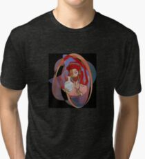 Red, the engraver Tri-blend T-Shirt