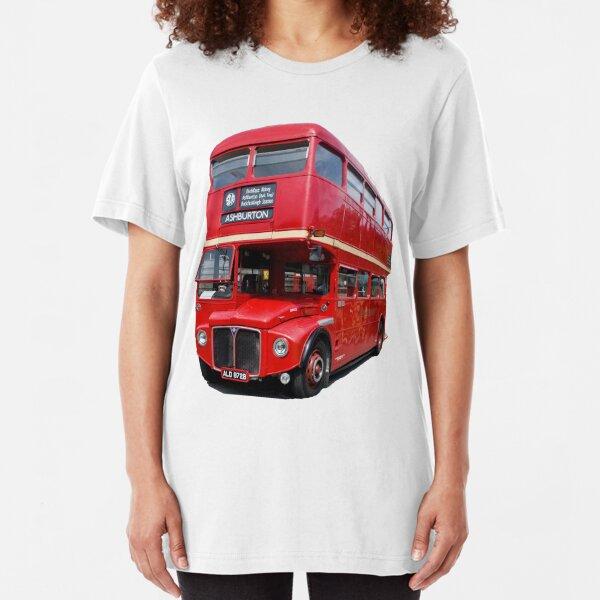London Bus T & Hoodie Slim Fit T-Shirt