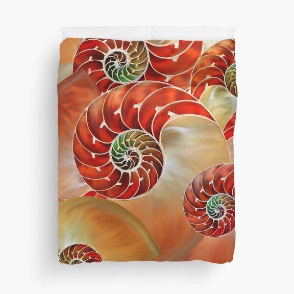 Nautilus Shells  Duvet Cover