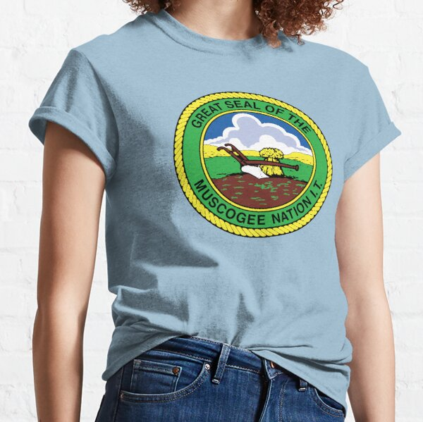 Great Seal Of The Muscogee Nation Classic T-Shirt