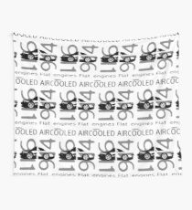 Aircooled flat6 engines Wall Tapestry