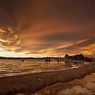 Mono Lake – Skies catch fire by Owed To Nature