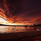 Mono Lake – Smoldering skies by Owed To Nature
