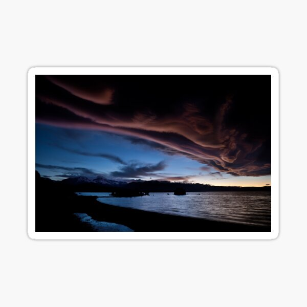 Mono Lake – Skies smoke Sticker