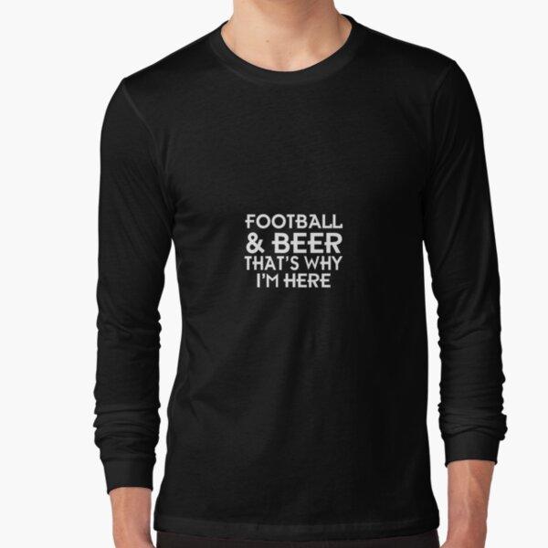 Football & beer Long Sleeve T-Shirt