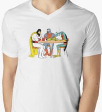Space Ghost Coast to Coast Men's V-Neck T-Shirt