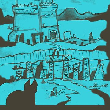 Adventure Awaits (Light Blue) by Zagazoo