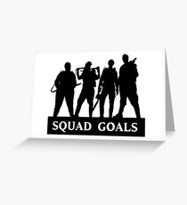 Ghostbusters 2016 Squad Goals Greeting Card