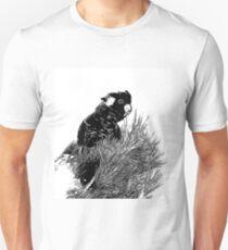 ~ Yellow-tailed black cockatoo ~ T-Shirt