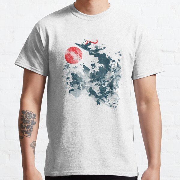 Aller aller! Temps de surf T-shirt classique