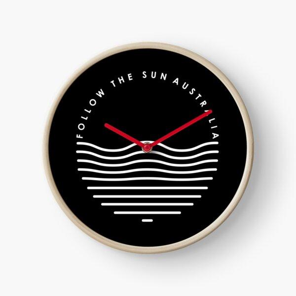 Follow the waves, environment, environmental, explorer Clock