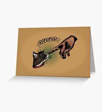 Boop Greeting Card