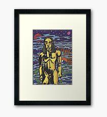Kouros Rising Framed Print