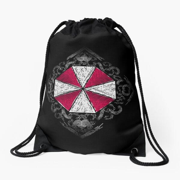 Village Umbrella Drawstring Bag