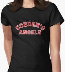 Corden's Angels Womens Fitted T-Shirt
