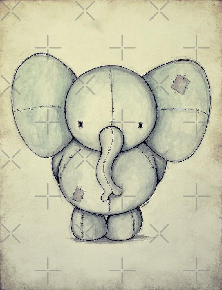 Cute Elephant by mikekoubou