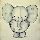 Cute Elephant by mikekoubou