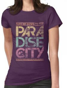 Paradise City Womens Fitted T-Shirt