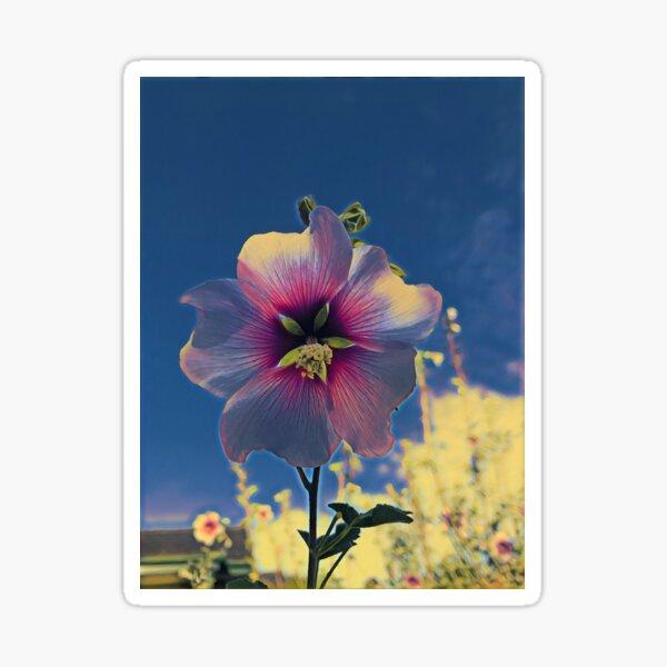 Cottage Garden Flower - Three Sticker