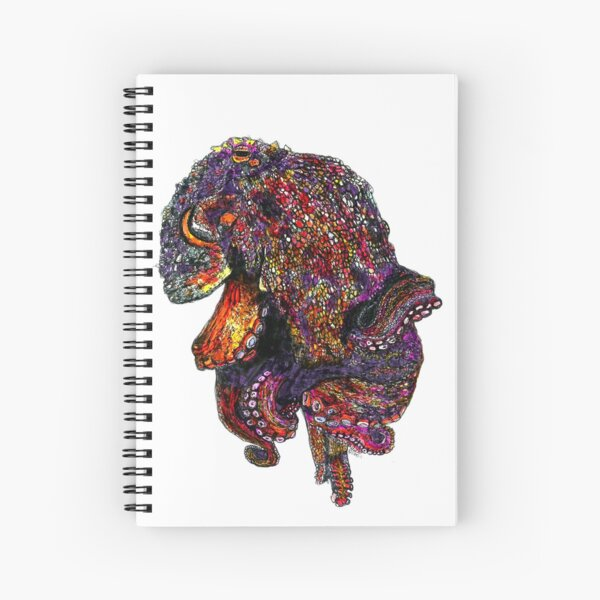 Lisa the Octopus Spiral Notebook