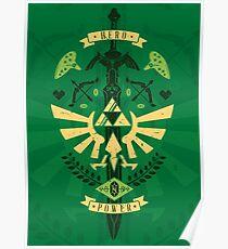 Zelda Crest Poster
