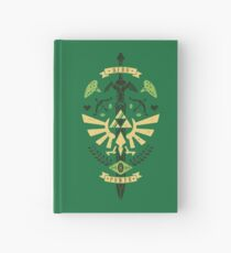Zelda Crest Hardcover Journal