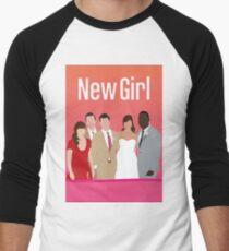 Neues Mädchen Baseballshirt mit 3/4-Arm