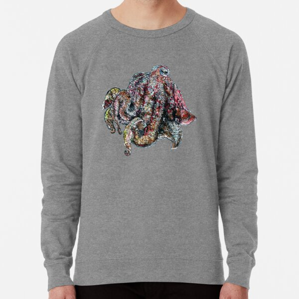 Mr Sparkles the Cuttlefish Lightweight Sweatshirt