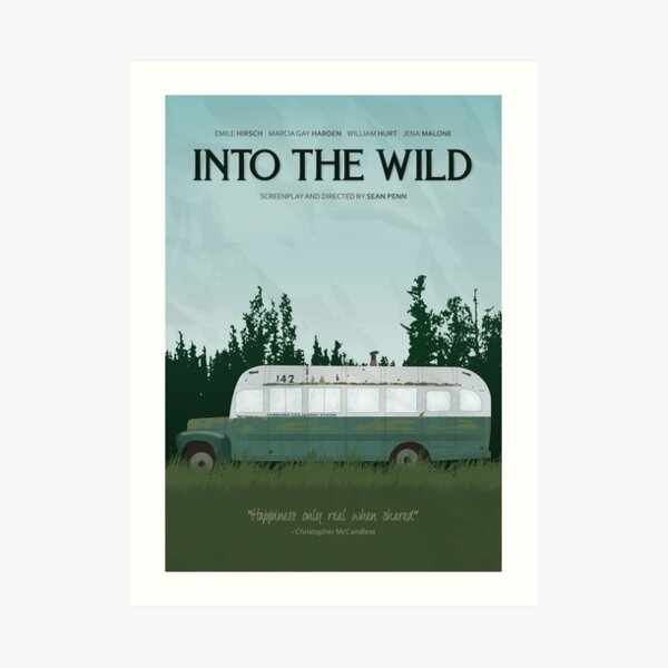 Into The Wild - Magic Bus Art Print