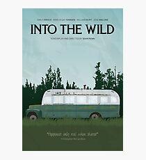 Into The Wild - Magic Bus Photographic Print