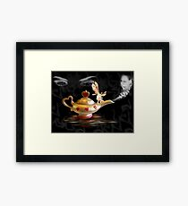 Summoning The Genie Framed Print