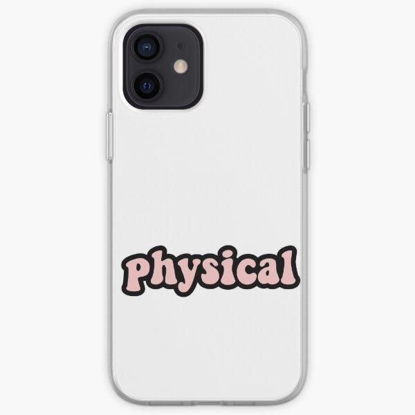 dua lipa physique Coque souple iPhone