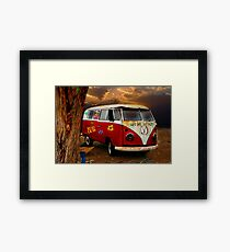 THE HIPPIES HAVE ALL GONE NOW.......... Framed Print