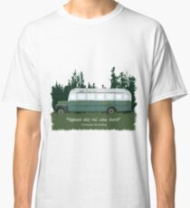 Into The Wild - Bus 142 Classic T-Shirt