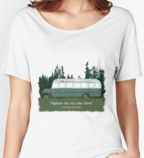 Into The Wild - Bus 142 Women's Relaxed Fit T-Shirt