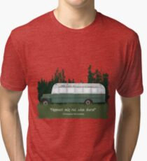 Into The Wild - Bus 142 Tri-blend T-Shirt