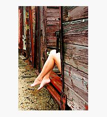 LEGS 2 Photographic Print