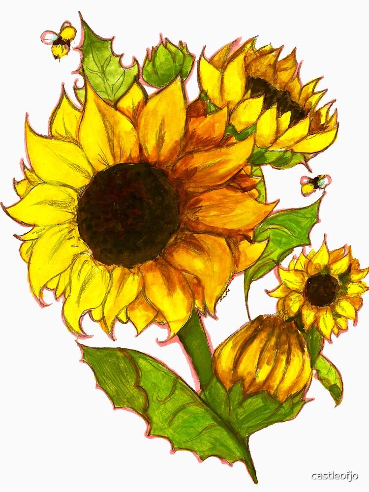Sonnenblumen von castleofjo