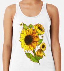 Sonnenblumen Racerback Tank Top