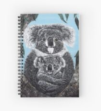 Togetherness - Koala Mama and Baby Spiral Notebook