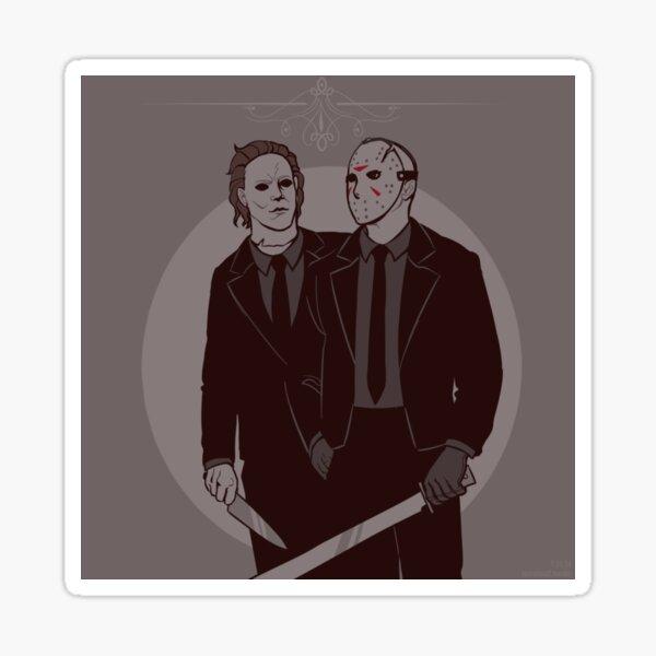 Michael & Jason Sticker