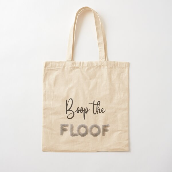 Boop the Floof Cotton Tote Bag