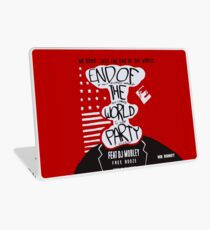 MR ROBOT: END OF THE WORLD PARTY Laptop Skin