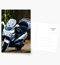 Face on a Moped, Bolzano/Bozen, Italy Postcards