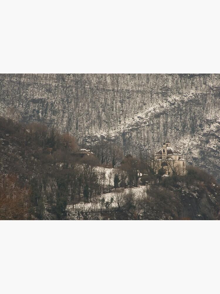 Snow scene, Bolzano/Bozen, Italy  by leemcintyre